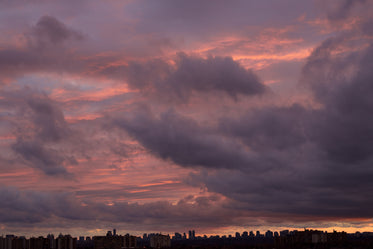 Picture of City Sky Sunset - Free Stock Photo