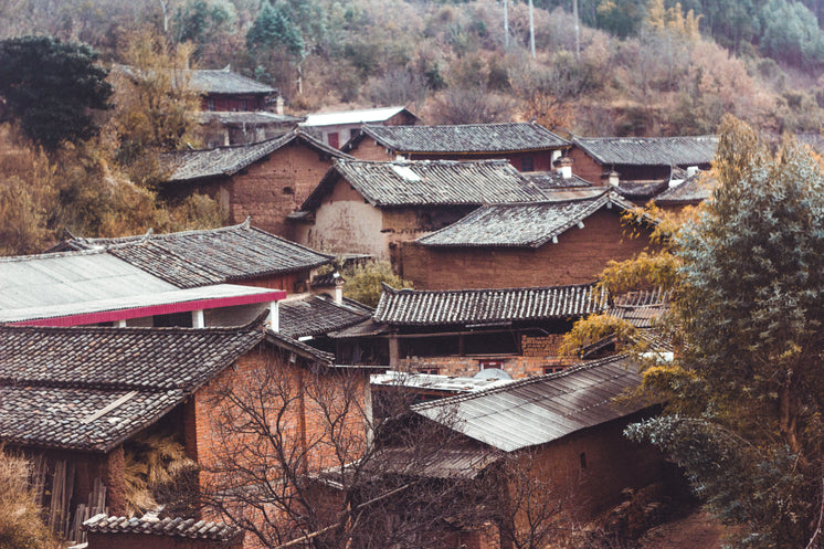 Clay Rooftops In China