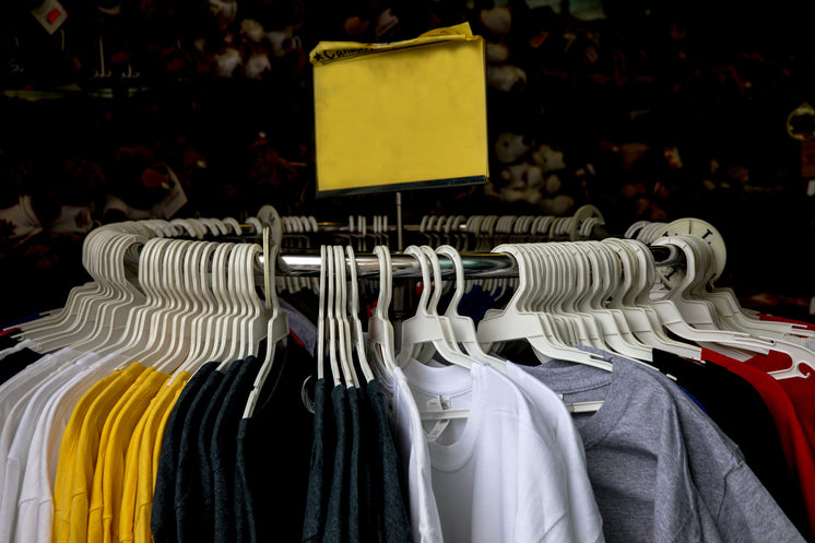 Clothing Rack T-Shirts For Sale Blank Sign