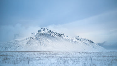 cloudy winter iceland