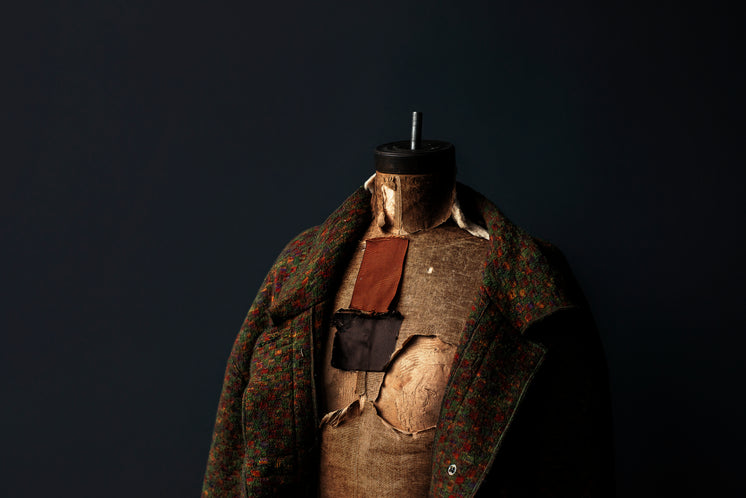 Coat on Sewing Body Form