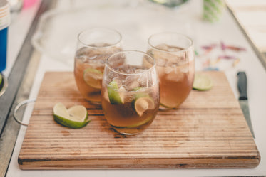 cocktails with lime