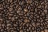 coffee beans from above