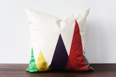 color modern couch pillow