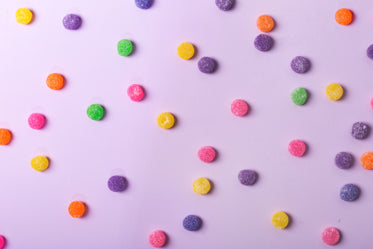 colorful candy gumdrops