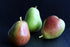 colorful pear fruit