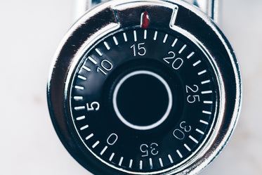 High Res Combination Lock Numbers Dial Picture — Free Images