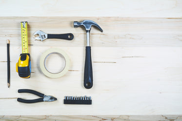 High Res Construction Tools Flatlay Picture — Free Images