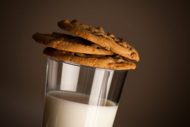 cookies on milk