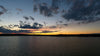 cottage country sunset