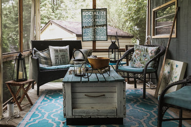 cottage porch lounge