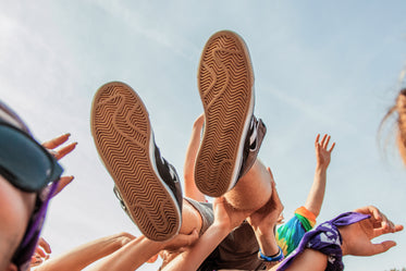 Picture of Crowd Surfers Feet — Free Stock Photo
