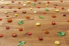 cut vegetables over wood surface