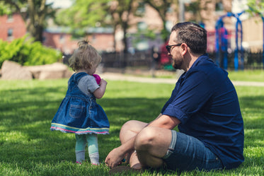 Picture of Dad At The Park - Free Stock Photo