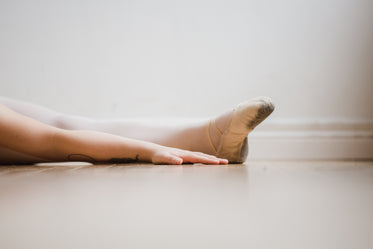 dancer floor stretch hand and foot