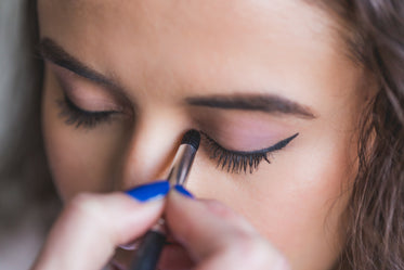 High Res Dark Eyeliner And Light Eyeshadow Picture — Free Images