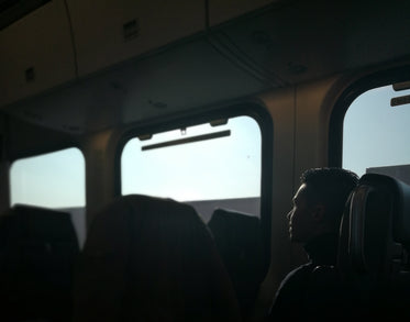 daydreaming on the train