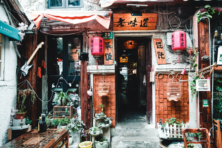 Decorated Chinese Store Front