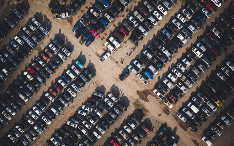 Dirt Laid Parking Lot