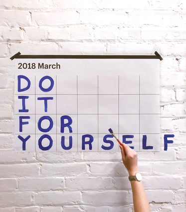 do it for yourself motivation sign