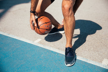Picture of Dribbling Basketball — Free Stock Photo