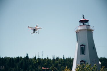 drone & lighthouse
