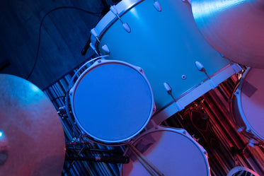 Picture Of Drumset On Stage Free Stock Photo