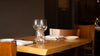 empty table for two