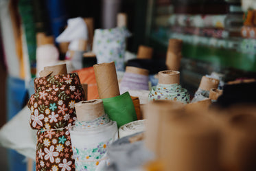 Free Stock Photo of Fabric Rolls For Sale — HD Images