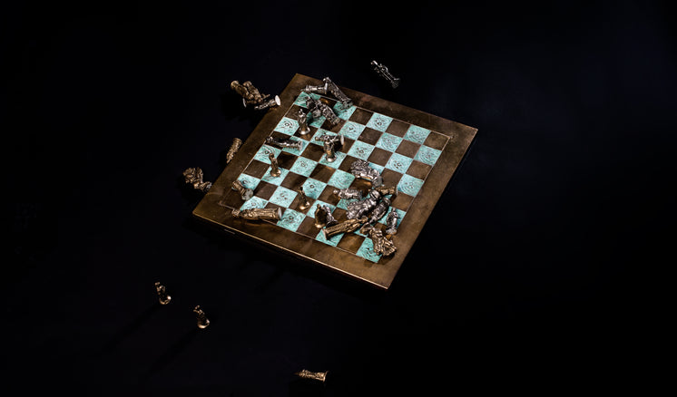 Fallen Chess Pieces