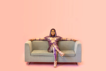 fierce queen on couch
