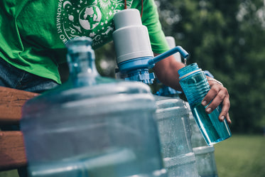 Picture of Filling Water Bottle - Free Stock Photo