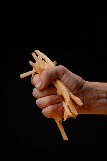 fist full of french fries