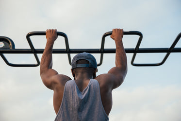 Browse Free HD Images of Fit Man Pull Ups