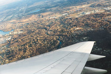 Free Stock Photo of Flight Over Autumn — HD Images