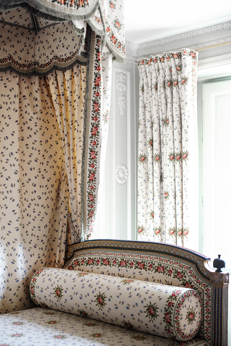 Floral Fabric Room