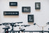Free Framed Quotes Behind Bike Rack Photo — High Res Pictures