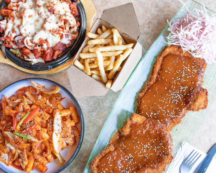Fried Comfort Food Fish And Chips