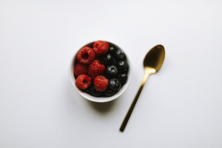 Fruit In A Cup With Spoon