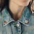 Picture of Fruit Pins On Jean Jacket - Free Stock Photo