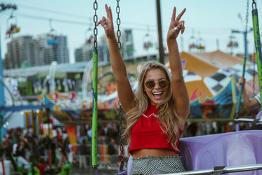 Free Fun At Carnival Photo — High Res Pictures