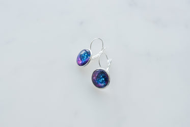 Picture of Galaxy Earrings - Free Stock Photo