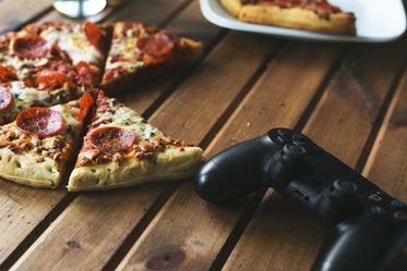games and pizza