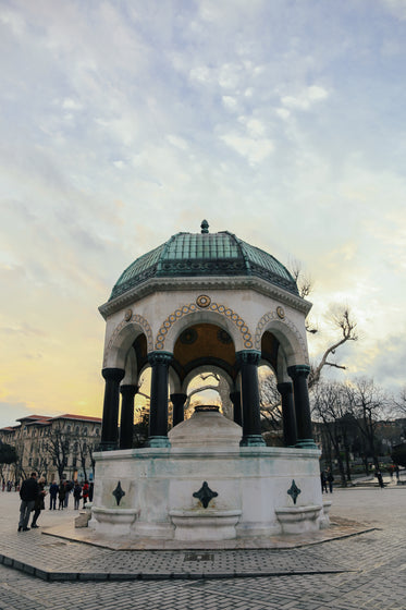 german fountain in istanbul