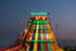 giant colorful slide