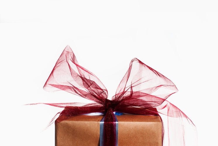 Gift Wrapped With A Big Red Bow