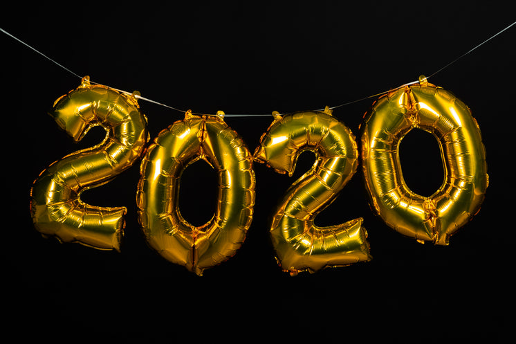 Gold 2020 Balloons