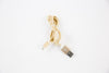 gold braided iphone cable