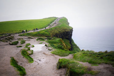 green cliffs of ireland