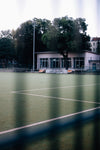 green outdoor athletic field